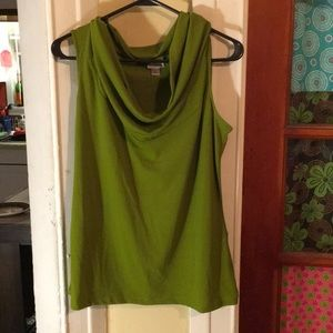 Worthington cowl-necked sleeveless top